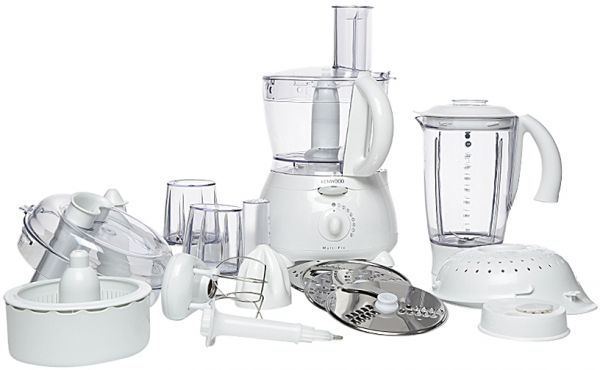 Kenwood Fp Multipro Food Processor White