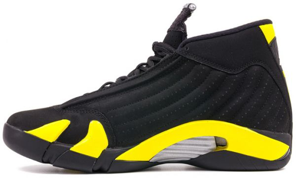 1d806ddc93fc38 Nike Air Jordan 14 Retro Thunder Men s Basketball Shoes-487471-070 ...