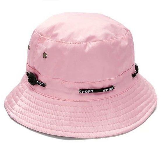 Light Pink Outdoor Summer Cap Hiking Camping Fishing Boonie Hat ... 2ef0873a4ca