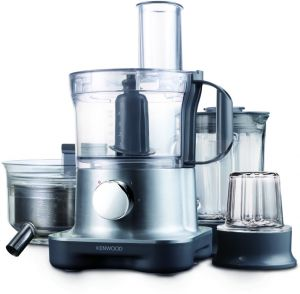 Kenwood FPM270 MultiPro Compact Food Processor 28 functions , Silver