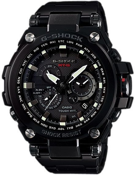 CASIO G-SHOCK Tough Solar Watch MTG-S1000BD-1ADR for Men (Layered Composite Band, Smart Access)