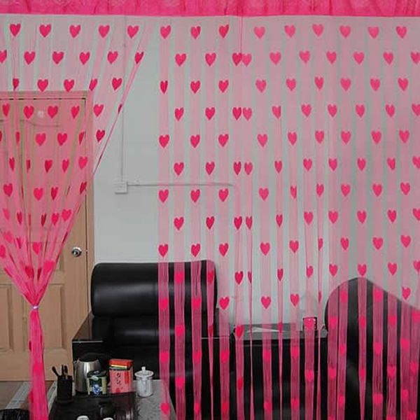 29.00 AED & Souq | Heart Line Tassel String Door Curtain Window Room Divider ...