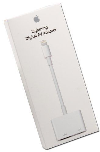 buy popular 83376 57d94 Lightning Digital AV Adapter HDMI for iPad, iPhone 6 & 6 plus and iPhone 5