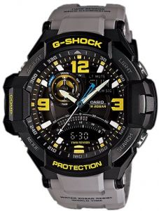 91ad95090cac Casio G-Shock Men s Black Ana-Digit Dial Resin Band Watch - GA-1000-8A