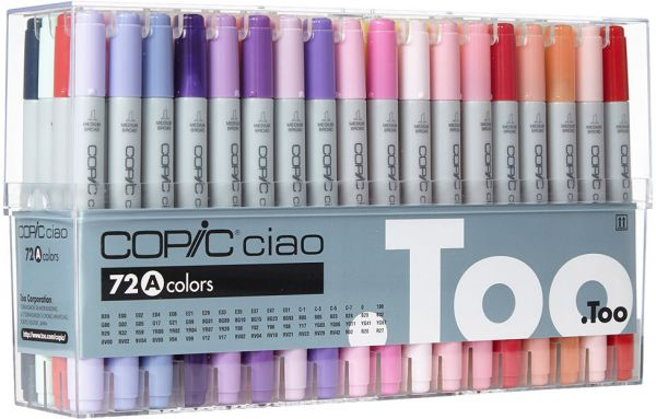 copic marker 72 piece sketch set a souq uae
