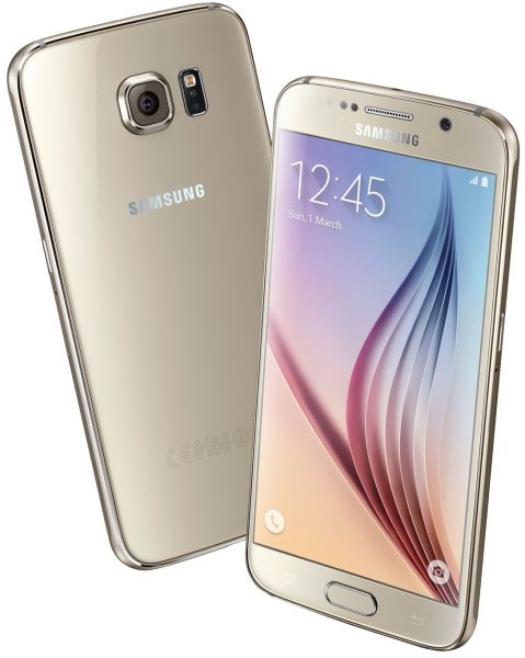 Samsung Galaxy S6 - 32 GB, 4G LTE, Gold