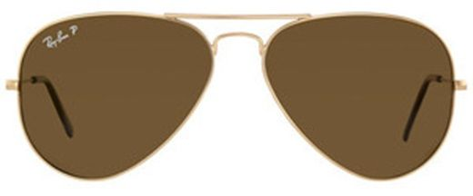 Ray Ban Aviator Classic RB3025 001 57, Golden Frame, Polarized Brown  Lenses, Size  58 28fd86034a