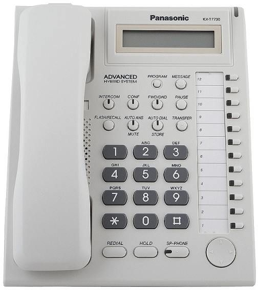 Panasonic Kx T7730 With Screen Compatible Central Phone Tes 824 Tem