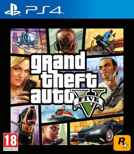 gta 5 grand theft auto v game for playstation 4 ps4 souq uae