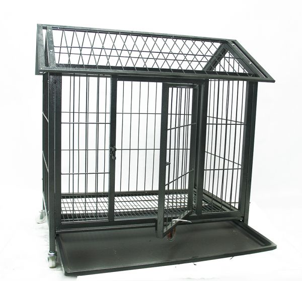 Metal Dog Cage Medium Ksa Souq