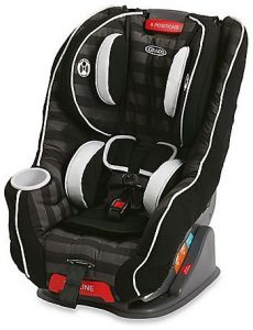 Graco 1872035 Size4Me 65 Rockweave Convertible Baby Car Seat Black