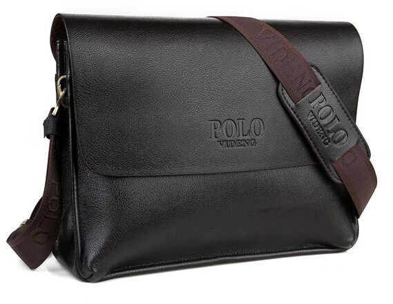Men leather videng polo brand horizontal travel messenger bag laptop cross  body business handbag   KSA   Souq 77bf7c106d