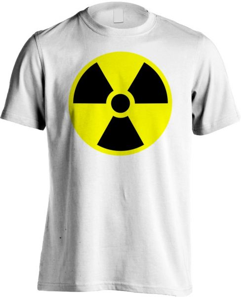Fruit Of The Loom Yellow Caution Mark White Tshirt S Price Review