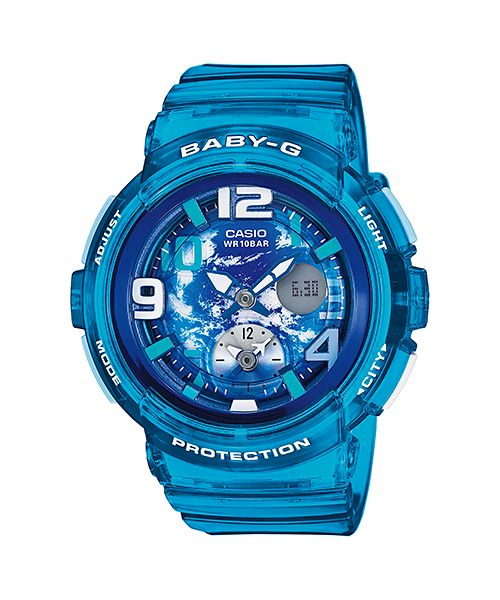 935be041adf Casio Baby-G for Women - Analog-Digital BGA-190GL-2BDR Resin Watch ...