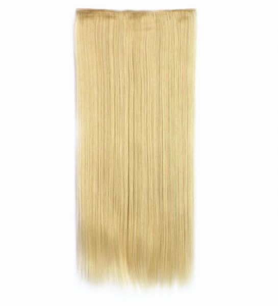 Fashion Different Colors Mixed Long Straight Hair Extension 5006 8