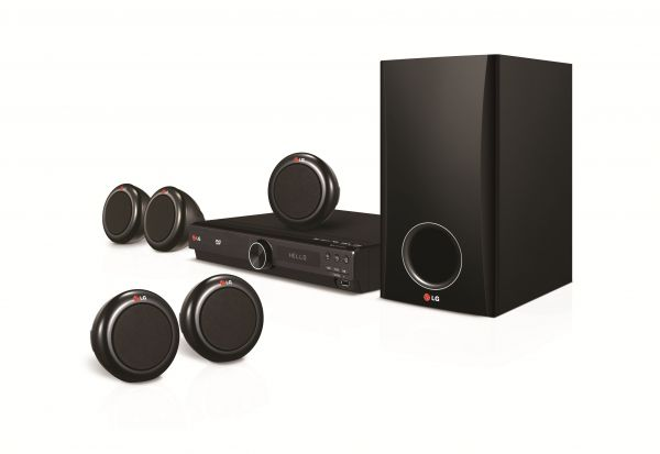 LG 5 1ch DVD Home Theater System - DH3140S