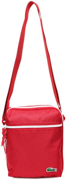 60a29db38341 Lacoste NH1355CP-274 Backcroc Crossbody Bag for Men - Tango Red ...