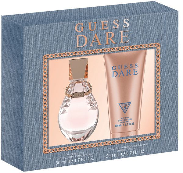 Guess Dare Gift Set For Women Edt 50ml Body Lotion 200ml Souq