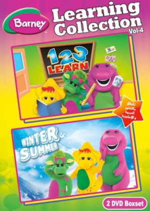 Barney Learning Collection Volume 4 Souq Uae