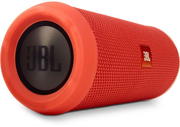 JBL Flip 3 Splashproof Portable Bluetooth Speaker - Orange, JBLFLIP3ORG | Souq - UAE