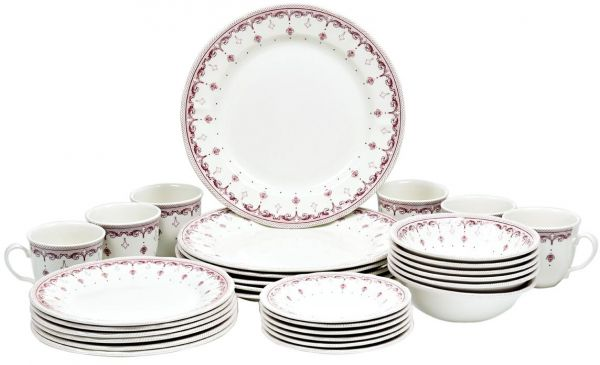 This item is currently out of stock  sc 1 st  Souq.com & Souq | Claytan Fine Earthenware Crown Ceramic 30 Pieces Dinner Set | UAE