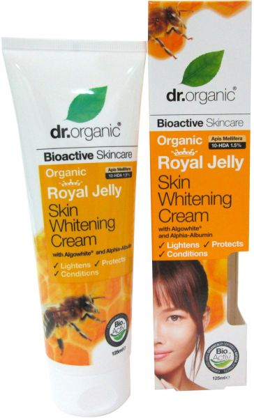 dr organic royal jelly skin whitening cream