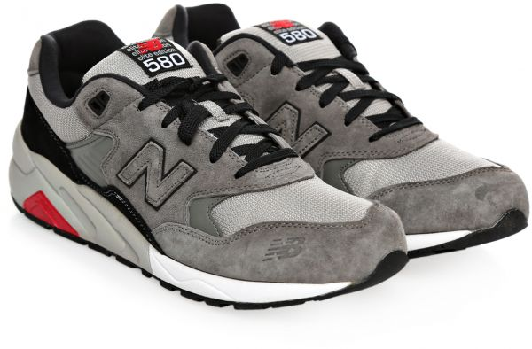save off 111e8 3d54e New Balance 580 Elite Edition Running Shoes for Men - 7.5 US, Gray