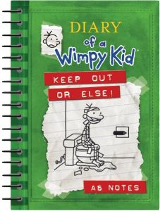 Diary of A Wimpy Kid Keep Out or Else! by Robert Frederick - Spiral Bound