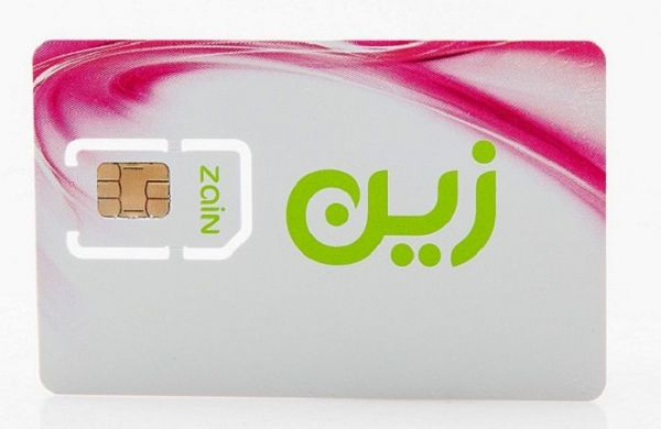 Zain 4G Data SIM , Unlimited download ,Speed upto 150Mbps , for 6 months