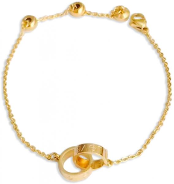 c80b62dc7eb elegant and lovely bracelet with cartier style gold