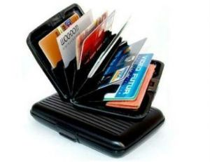 BUSINESS TRAVEL ID CREDIT CARD HOLDER WALLET ALUMINUM METAL POCKET CASE BOX.  by Other ede25f3dc