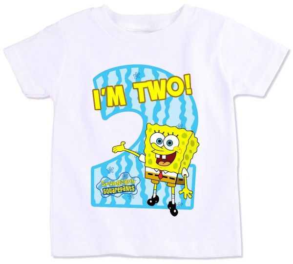 Personalized SpongeBob Birthday Shirt Or Onesie By Grammeshouse 2500 This Item Is Currently Out Of Stock