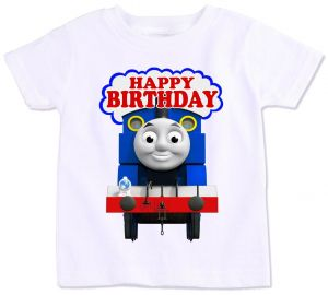 Thomas And His Friends Happy Birthday T Shirt 4 Years