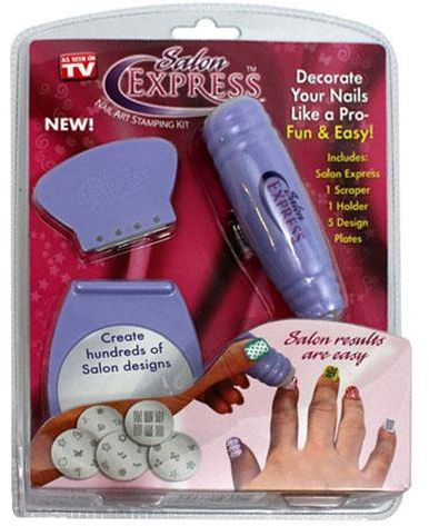 Salon Express Nail Art Stamping Kit Souq Uae
