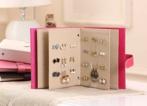 4a05a0b88 Travel Portable Jewelry Box Jewelry Storage Earrings Box Creative  Collection books