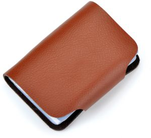 Sale on business card holder buy business card holder online at fashion business credit card holder leather strap buckle bank card wallet bag 26 card case id holder reheart Images