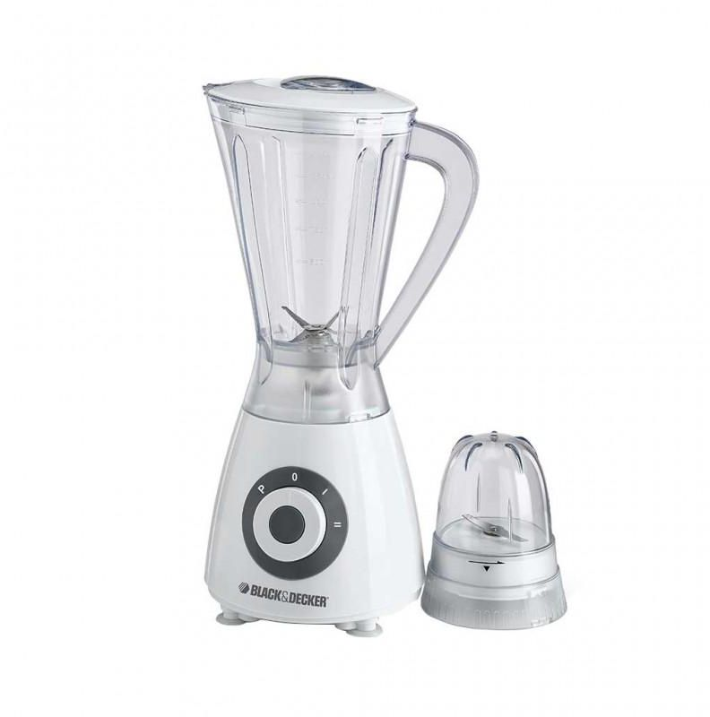 Black & Decker Blender With Grinder Mill and Chopper Mill 400 Watts - Bx390-B5