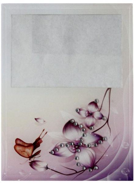 Picture Frame 1603 - White and Purple, 10 x 15 Inch   Souq - UAE