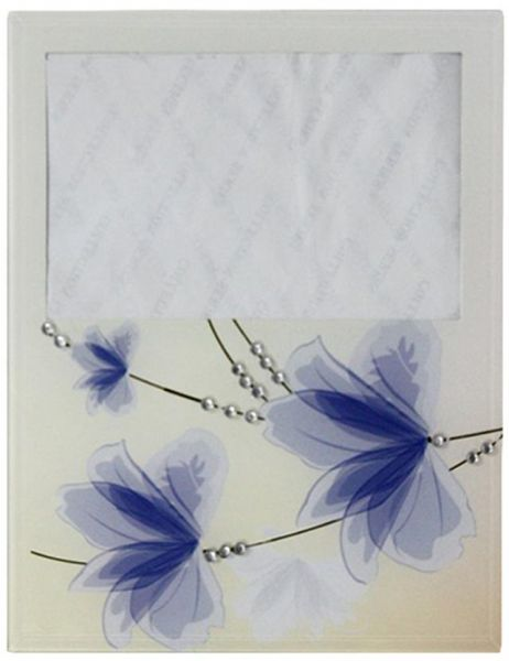 Souq   Picture Frame 1603 - Off White and Blue, 10 x 15 Inch   Kuwait