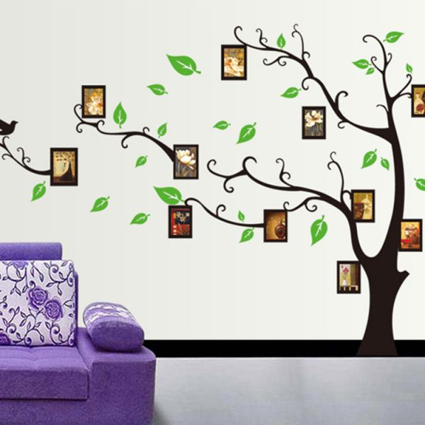 tree style removable wall sticker 3d wallpaper wall decals | souq - uae