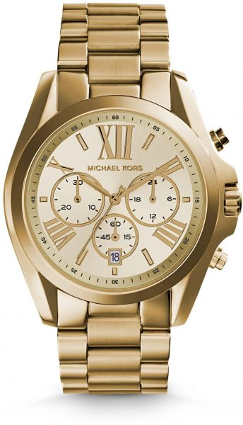 549e85f165b8 Michael Kors Bradshaw Watch for Unisex - Analog Stainless Steel Band -  MK5605