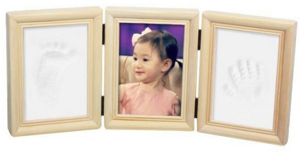 Baby Handprint And Footprint Frame Souq Uae