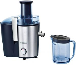 Bosch 2 Liter Smoothie Hand Press Juice Extractor - MES3500GB, Multi Color