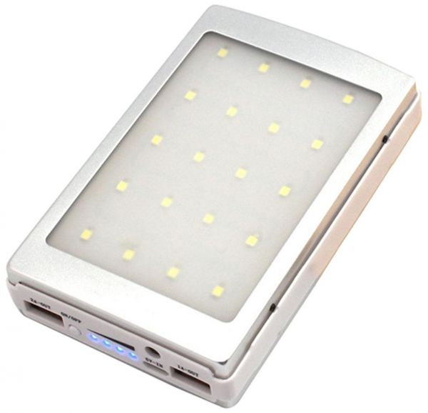 E-Top ET-S3 30000mAh Solar Power Bank with LED Light for Mobile ... ba9276a58303