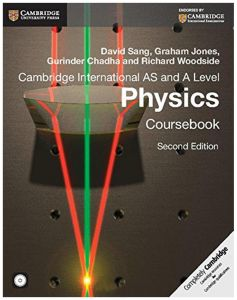 Cambridge International AS and A Level Physics Coursebook with CD-ROM by David Sang - Paperback