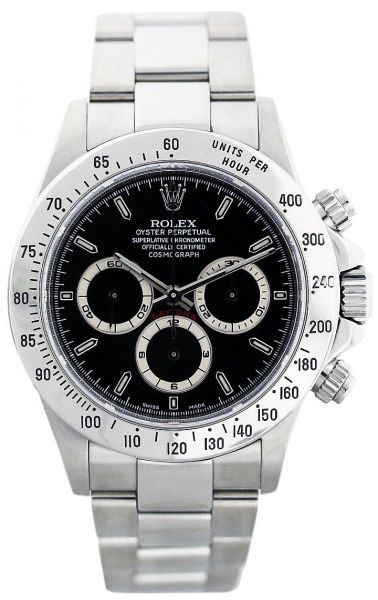 33f2d6fc478 Rolex Oyster Perpetual Cosmograph Daytona Men s Black Stainless ...