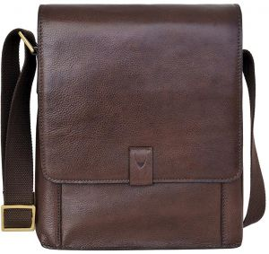 4183612881 Hidesign Aiden 02 Medium Messenger Bag for Men - Genuine Leather