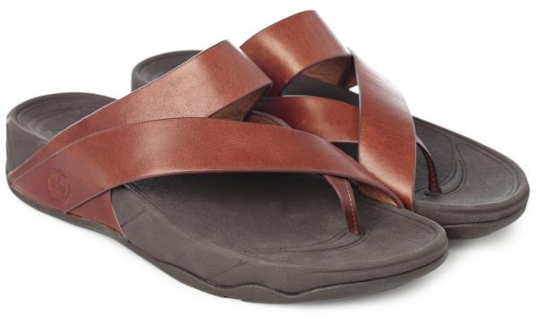 cd411af5da3a FitFlop Brown Thong Sandal For Men