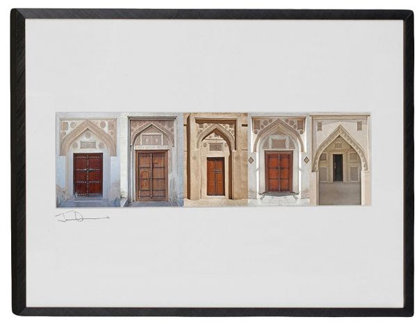 Souq Gallery One Aluminum Black Doors To Arabia A2 Picture Frame Uae