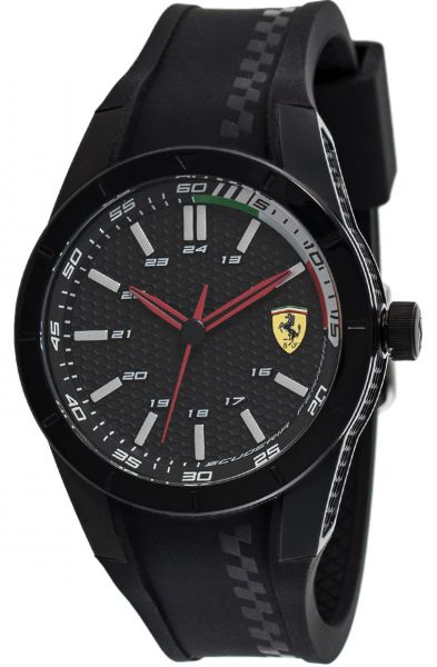 ferrari s scuderia yellow dial watches watch pit men crew